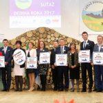 Minister životného prostredia László Sólymos udelil ocenenie Dedina roka 2017